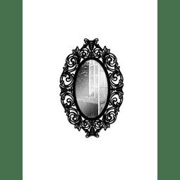 Quadro Espelho Oval - Alteração de valores por medidas
