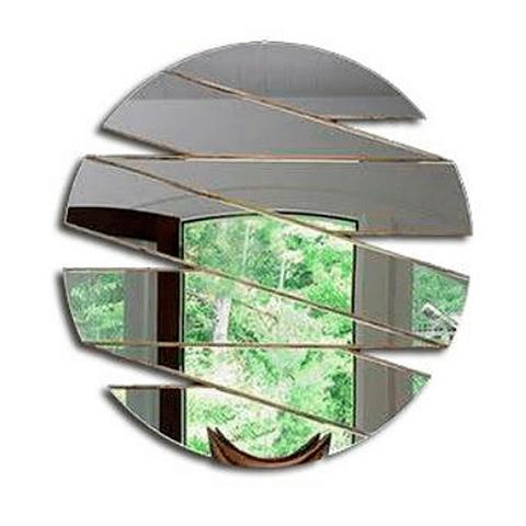 Quadro Espelho Acrílico Sentido - Alteração de valores por medidas