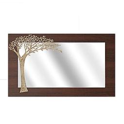 Quadro Espelho Old Tree Retangular - Alteração de valores por medidas