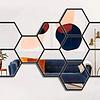 Quadro Espelho Hexagon 2 - Alteração de valores por medidas