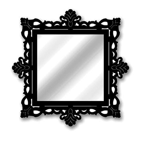 Quadro Espelho Rococó Imperor - Alteração de valores por medidas