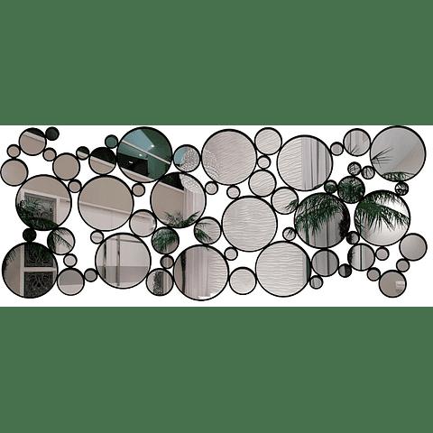 Quadro Espelho Acrílico Circle - Alteração de valores por medidas