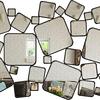 Quadro Espelho Acrílico Square - Alteração de valores por medidas