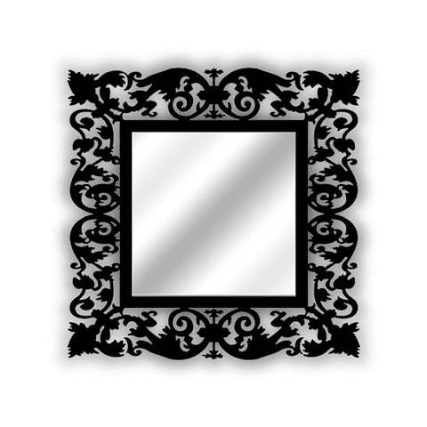 Quadro Espelho Rococó - Alteração de valores por medidas