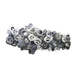 Escultura de Parede em Aço Inox Silver Circles - Alteração de valores por medidas