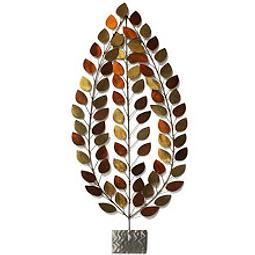 Escultura de Parede em Aço Inox Conífera - Alteração de valores por medidas