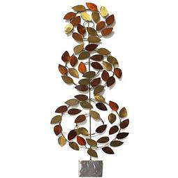 Escultura de Parede em Aço Inox Sequóia - Alteração de valores por medidas