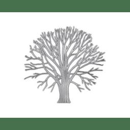 Escultura de Parede em Aço Inox Tree Ligth - Alteração de valores por medidas