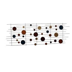 Escultura de Parede em Aço Inox Sinfonia - Alteração de valores por medidas