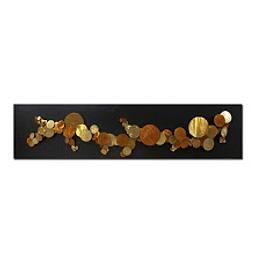 Escultura de Parede em Aço Inox Órbitas - Alteração de valores por medidas