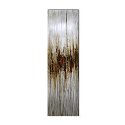 Escultura de Parede em Alumínio Power Line's - Alteração de valores por medidas