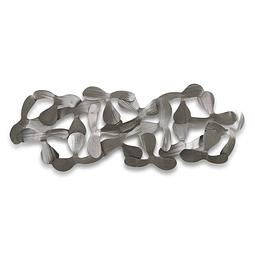 Escultura de Parede em Aço Inox Katanas