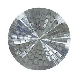 Escultura de Parede em Aço Inox Pinot - Alteração de valores por medidas