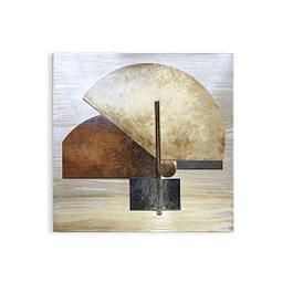 Escultura de Parede em Alumínio illusion - Alteração de valores por medidas