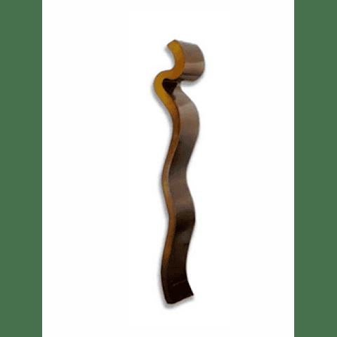 Escultura de Parede em Mdf Gum - Alteração de valores por medidas