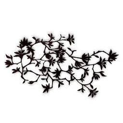 Escultura de Parede em MDF Wood Flowers - Alteração de valores por medidas
