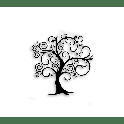 Escultura de Parede em MDF Árvore Lúdica - Alteração de valores por medidas