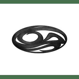 Escultura de Parede em MDF Contour - Alteração de valores por medidas