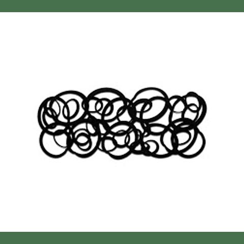 Escultura de Parede em MDF Spirals - Alteração de valores por medidas