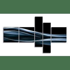 Conjunto de Quadros Metacrilato Spirals - Alteração de valores por medidas