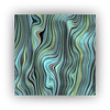 Conjunto de Quadros Metacrilato Blue Green - Alteração de valores por medidas