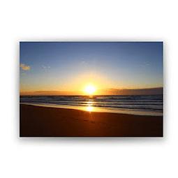 Quadro Metacrilato Paraíso - Alteração de valores por medidas
