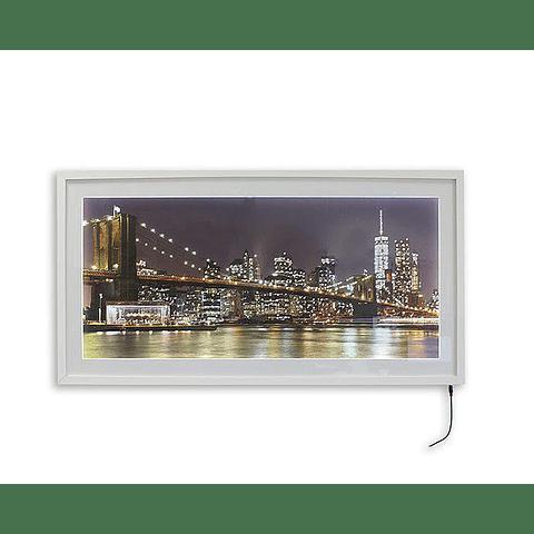 Quadro LED Brooklyn 1 - Alteração de valores por medidas