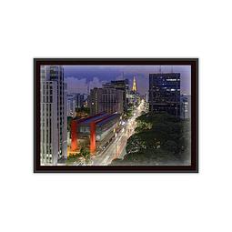 Quadro LED São Paulo Masp - Alteração de valores por medidas