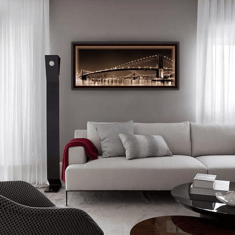 Quadro LED Brooklyn Bridge C - Alteração de valores por medidas