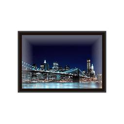 Quadro LED Brooklyn Bridge B - Alteração de valores por medidas
