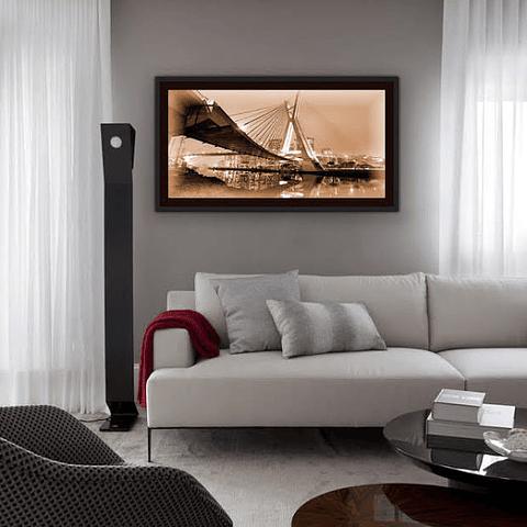 Quadro LED SP Ponte Estaiada - Alteração de valores por medidas
