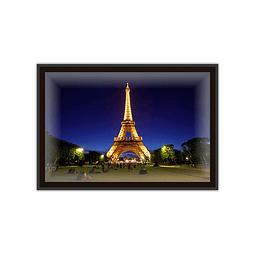 Quadro LED Torre Eiffel Paris - Alteração de valores por medidas