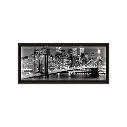 Quadro LED Ponte Brooklyn - Alteração de valores por medidas