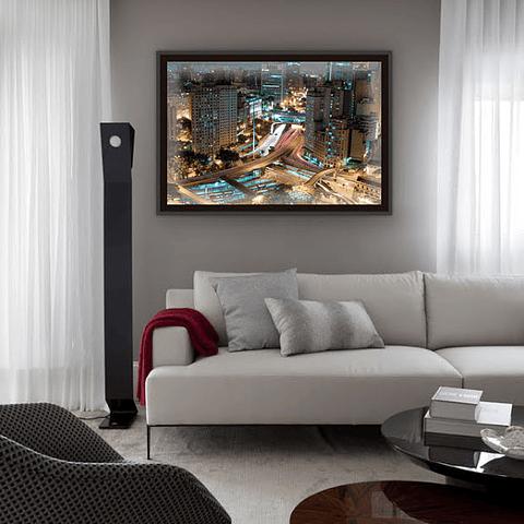 Quadro LED SP City Night - Alteração de valores por medidas