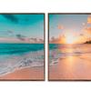 Conjunto de quadros Separados Dawn - Alteração de valores por medidas