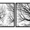 Conjunto de Quadros separados Winter - Alteração de valores por medidas