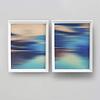 Conjunto de Quadros Separados Abstrato Praia - Alteração de valores por medidas
