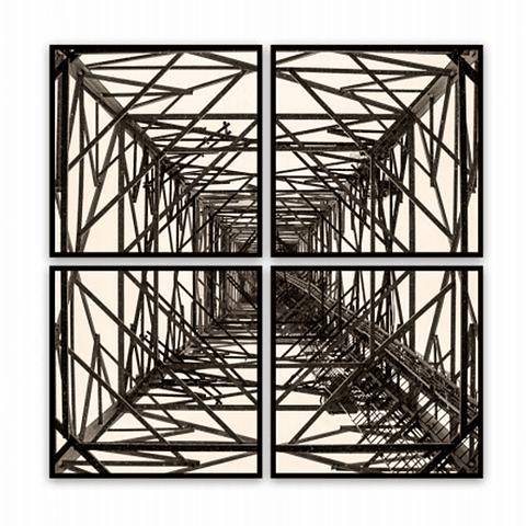 Conjunto de Quadros Separados Torre Ferro - Alteração de valores por medidas