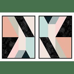 Conjunto de Quadros Romeu - Alteração de valores por medidas