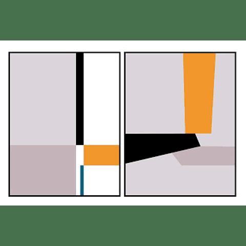 Conjunto de Quadros Lund - Alteração de valores por medidas