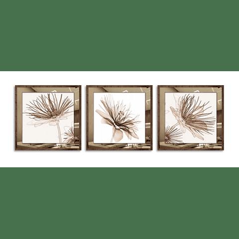 Trio de Quadros Living  - Alteração de valores por medida