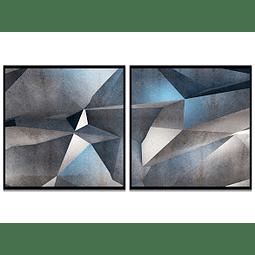 Conjunto de Quadros Cristalle - Alteração de valores por medidas