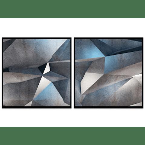 Conjunto de Quadros Separados Cristalle - Alteração de valores por medidas