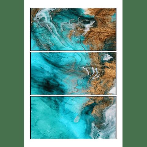 Trio de Quadros Separados Window - Alteração de valores por medidas