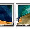 Conjunto de Quadros Covered com Paspatur de Espelho  - Alteração de valores por medidas