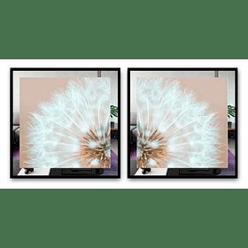 Conjunto de Quadros Bel com Paspatur de Espelho  - Alteração de valores por medidas