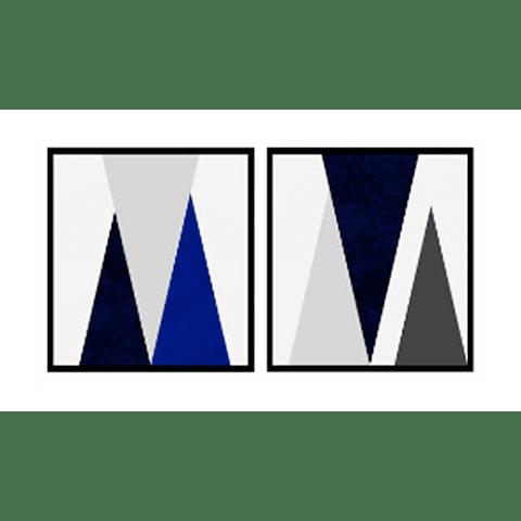 Conjunto de Quadro Atlantis - Alteração de valores por medidas