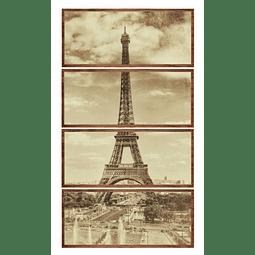 Conjunto de Quadros Trioumphe - Alteração de valores por medidas