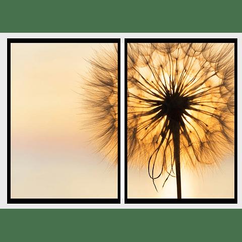 Conjunto de Quadros Separados Spirit - Alteração de valores por medidas