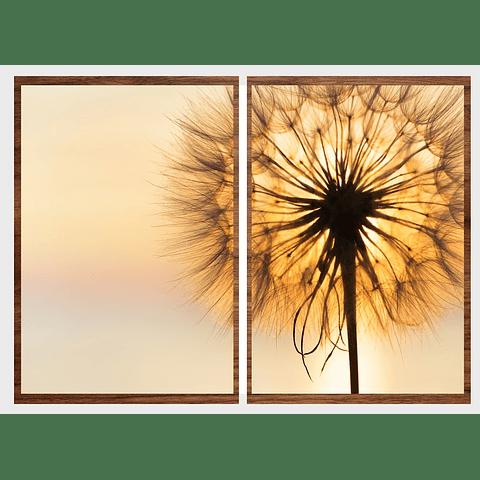 Conjunto de Quadros Separados Spirit - Par - Alteração de valores por medidas